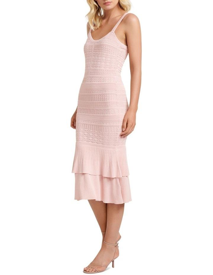 Bonnie Sheer Frill Knit Dress image 3
