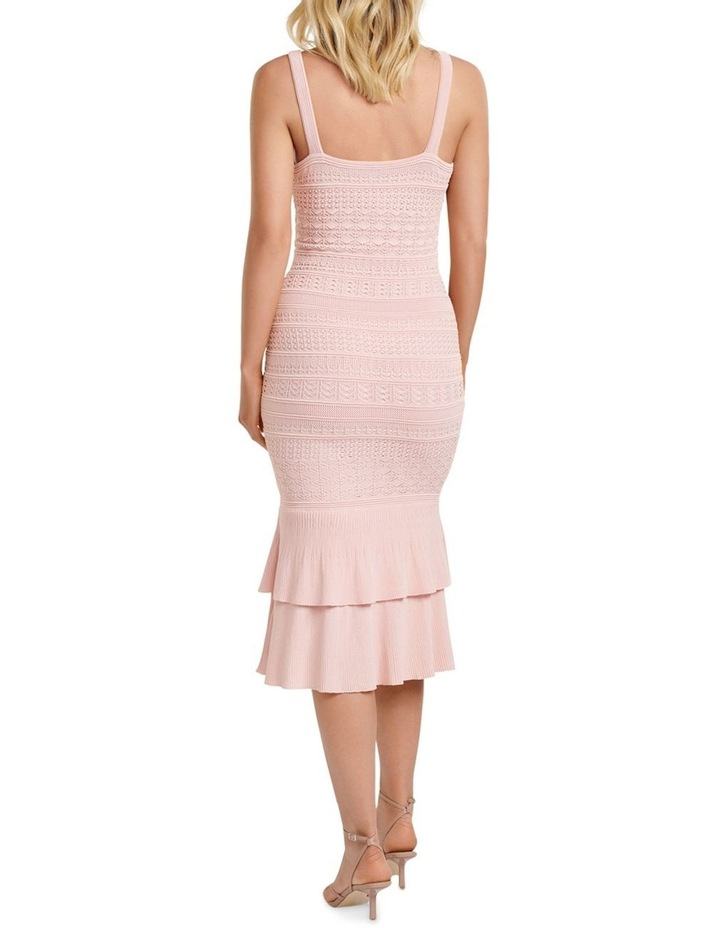 Bonnie Sheer Frill Knit Dress image 4
