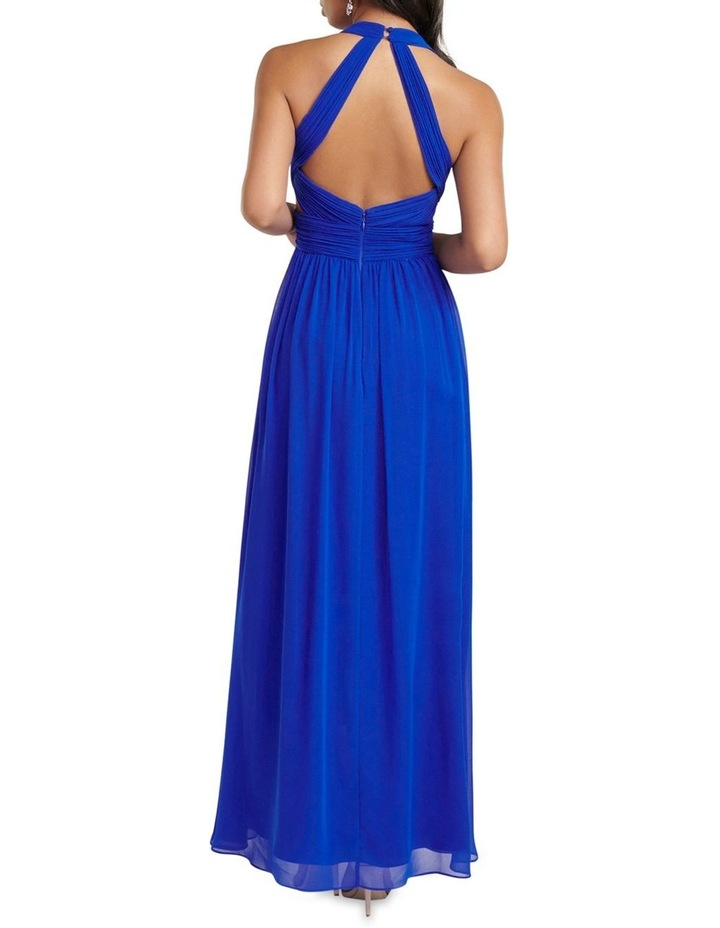 Laicy Pleat Cut Out Maxi Dress image 4