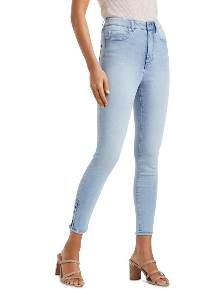 Bella High Rise Sculpting Crop Jeans image 1