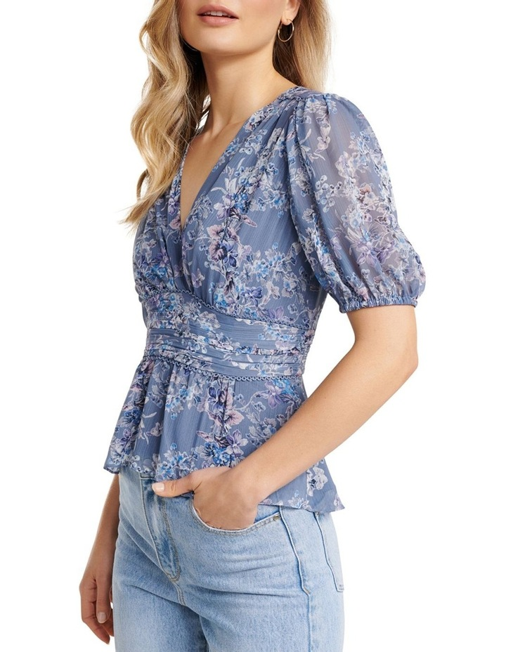Cecily Puff Sleeve Blouse image 2