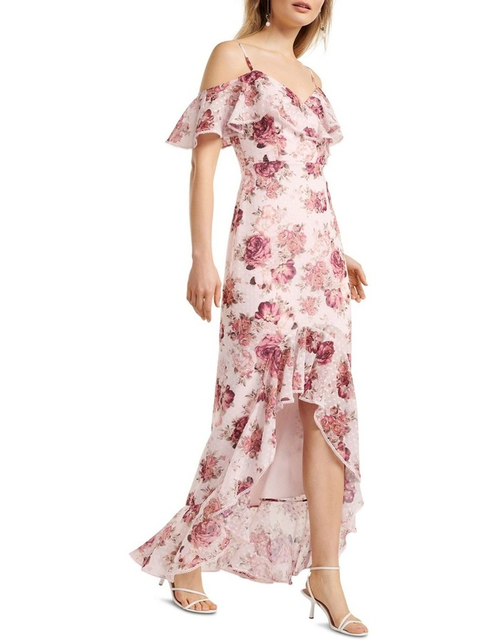 Stacey Off Shoulder Ruffle Maxi Dress image 1