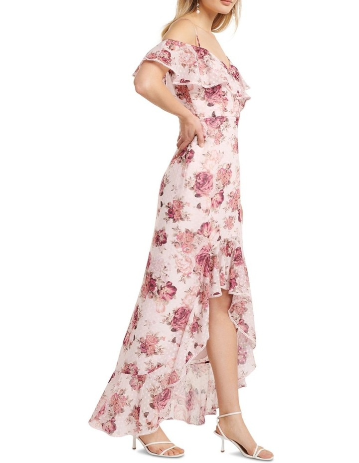 Stacey Off Shoulder Ruffle Maxi Dress image 3