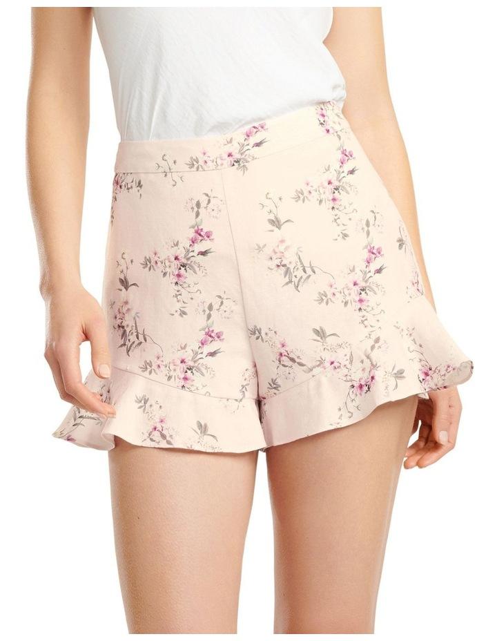 Mandy Linen Blend Shorts image 1