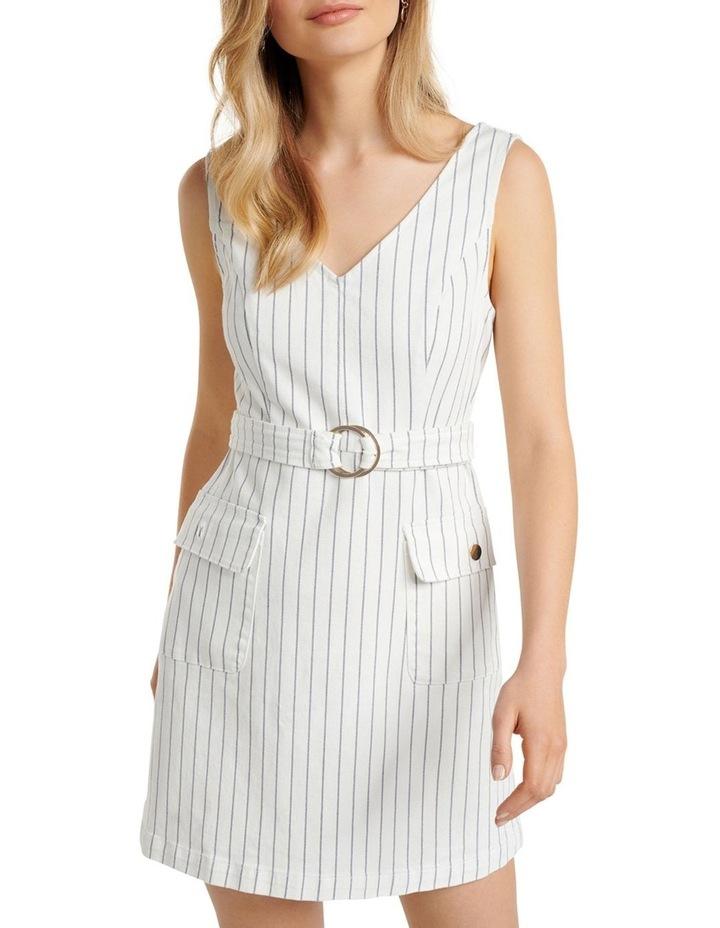 Sammy Stripe Denim Mini Dress image 2