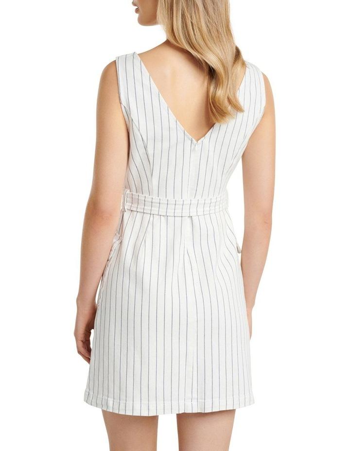 Sammy Stripe Denim Mini Dress image 4