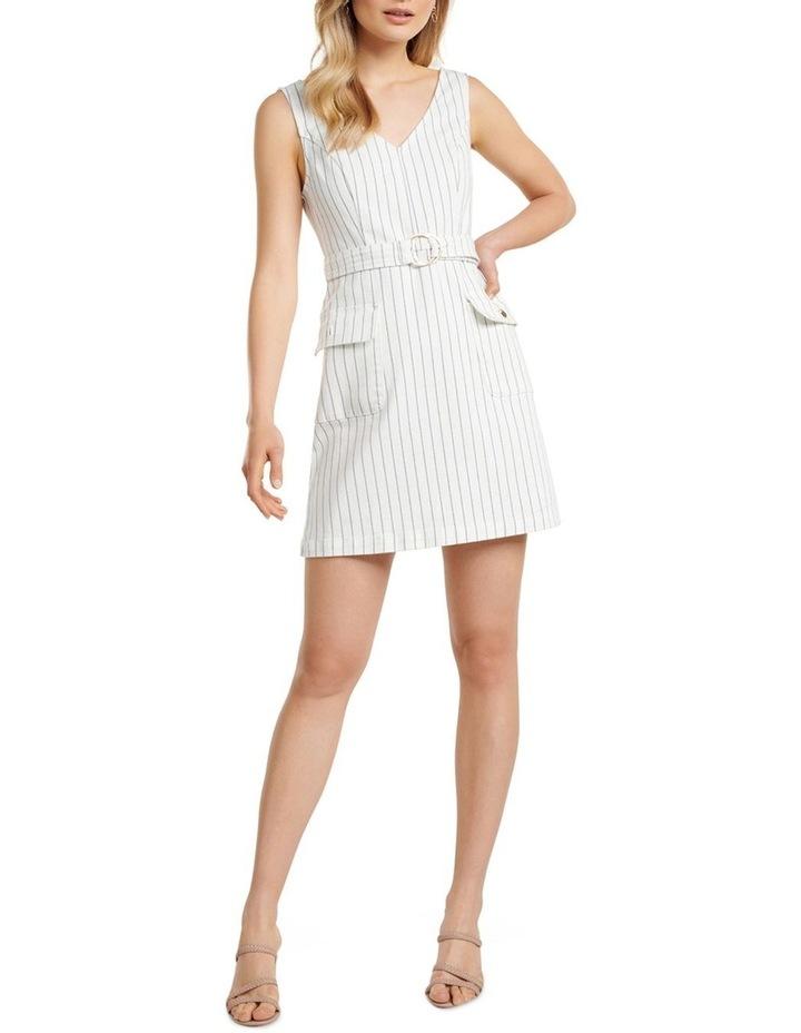 Sammy Stripe Denim Mini Dress image 5