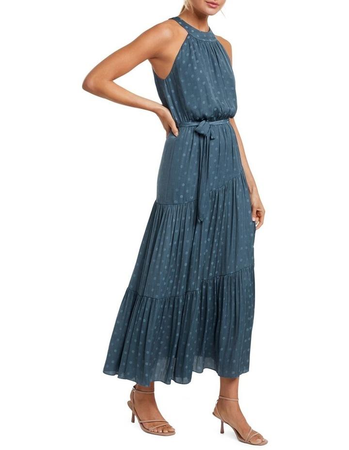 Carlita Tiered High Neck Maxi Dress image 1