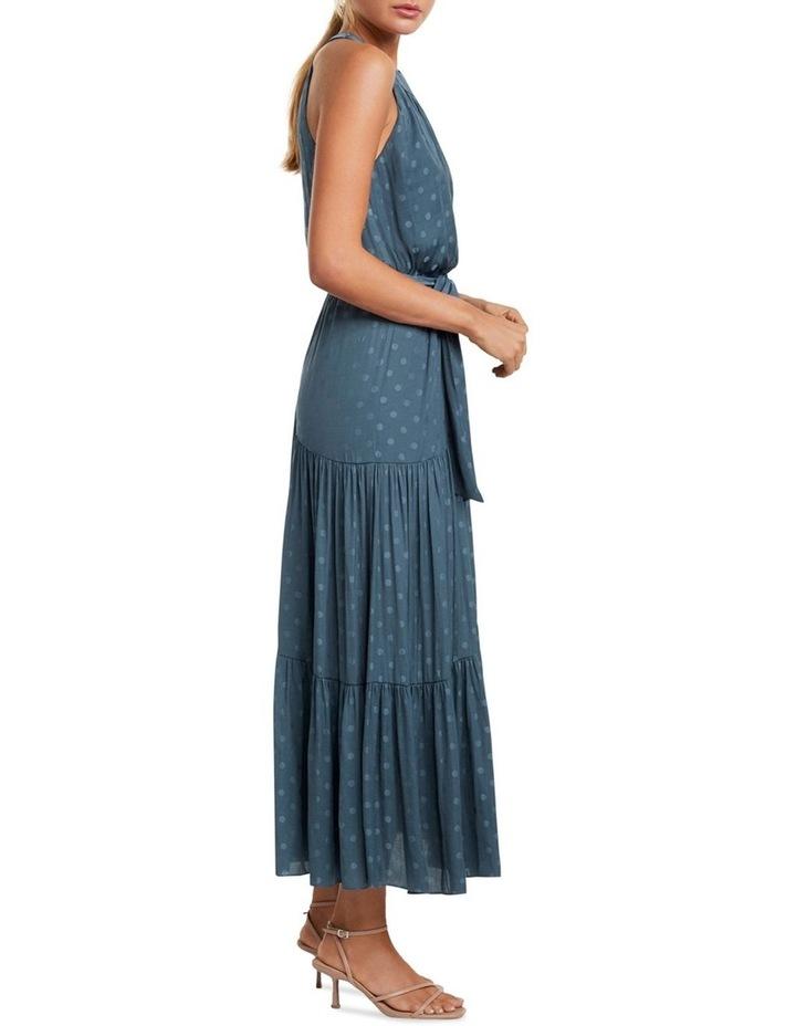 Carlita Tiered High Neck Maxi Dress image 3