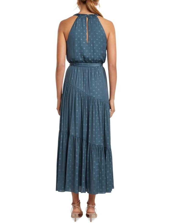 Carlita Tiered High Neck Maxi Dress image 4