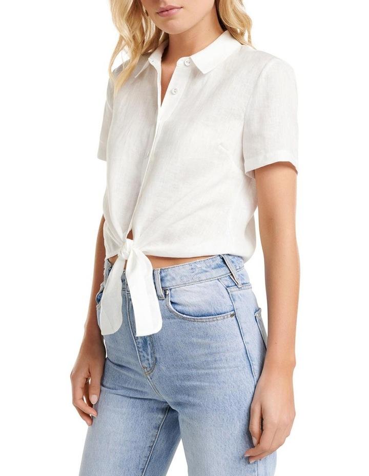Ember Linen Short Sleeve Shirt image 2