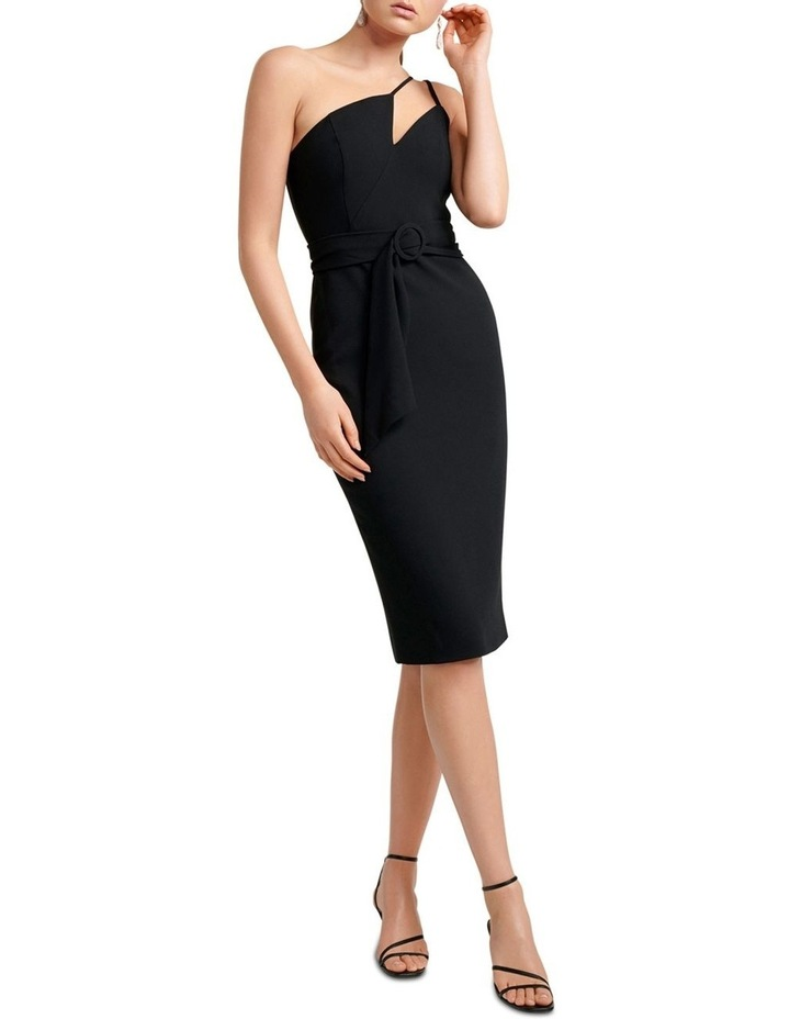 Suzie Asymmetric Neckline Bar Dress image 1