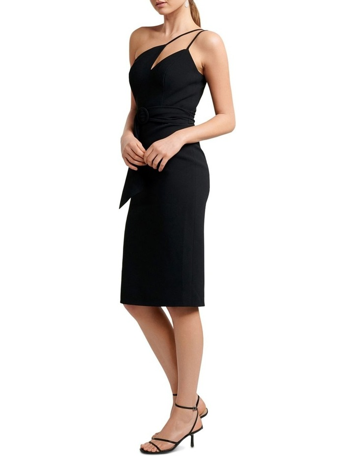 Suzie Asymmetric Neckline Bar Dress image 3
