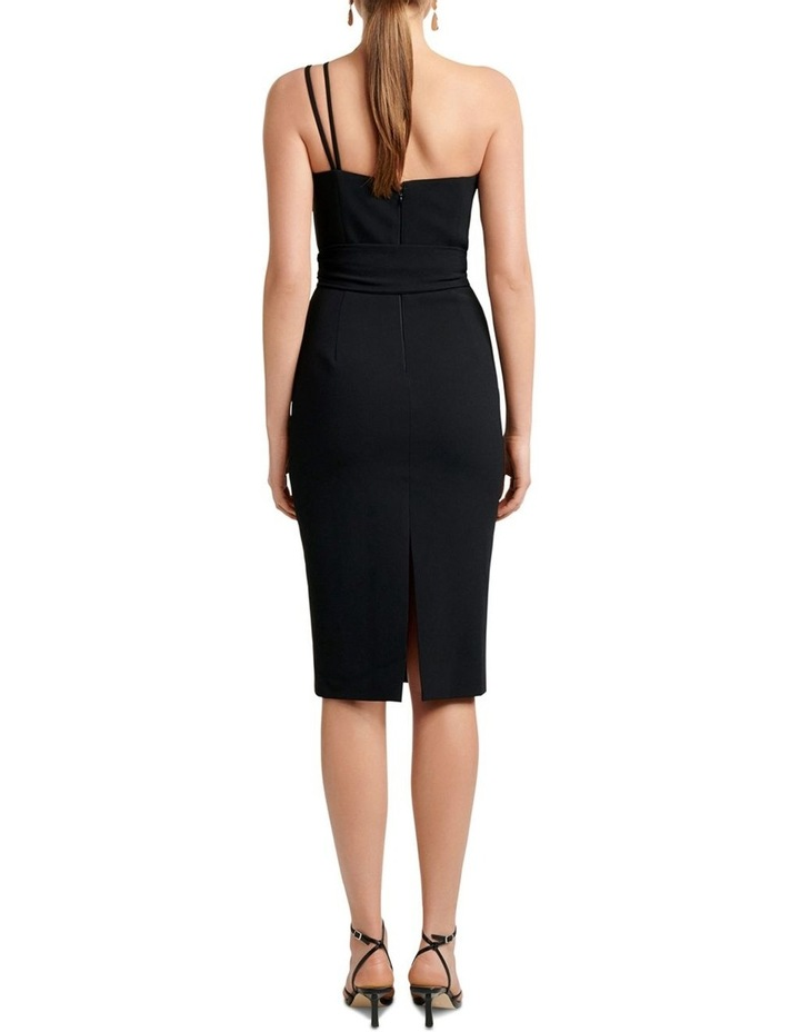 Suzie Asymmetric Neckline Bar Dress image 4