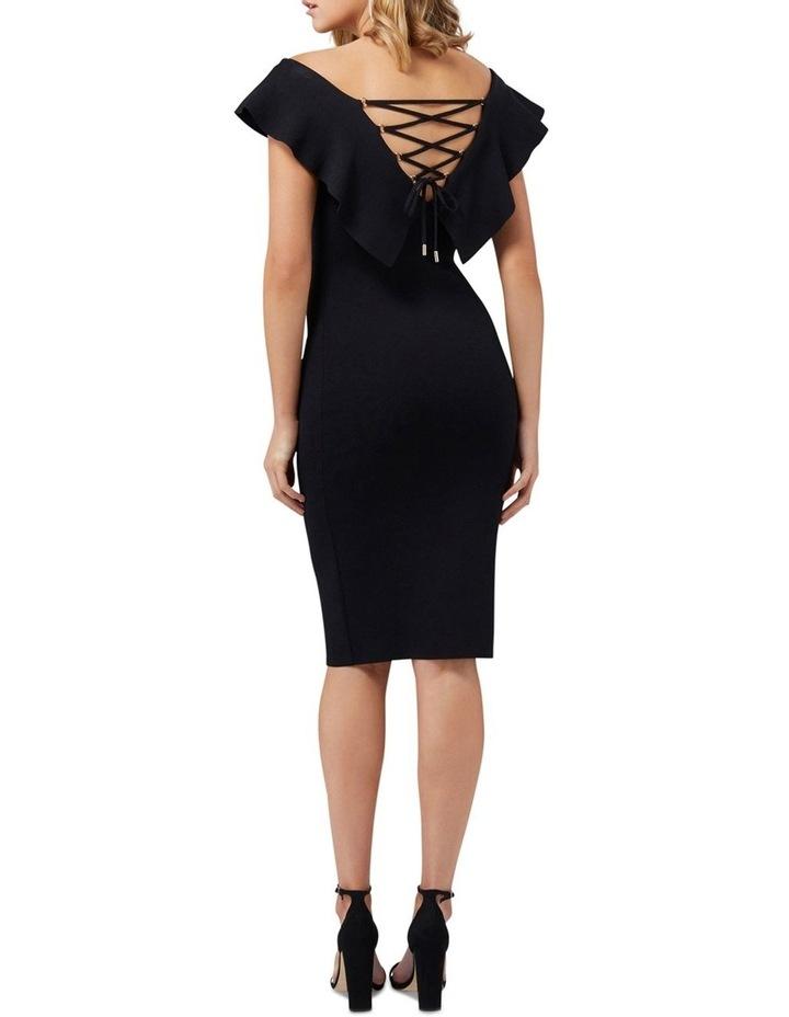 Sharna Frill Bardot Knit Dress image 5