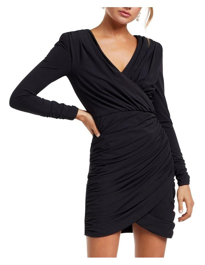 Sharni Draped Mini Dress image 1
