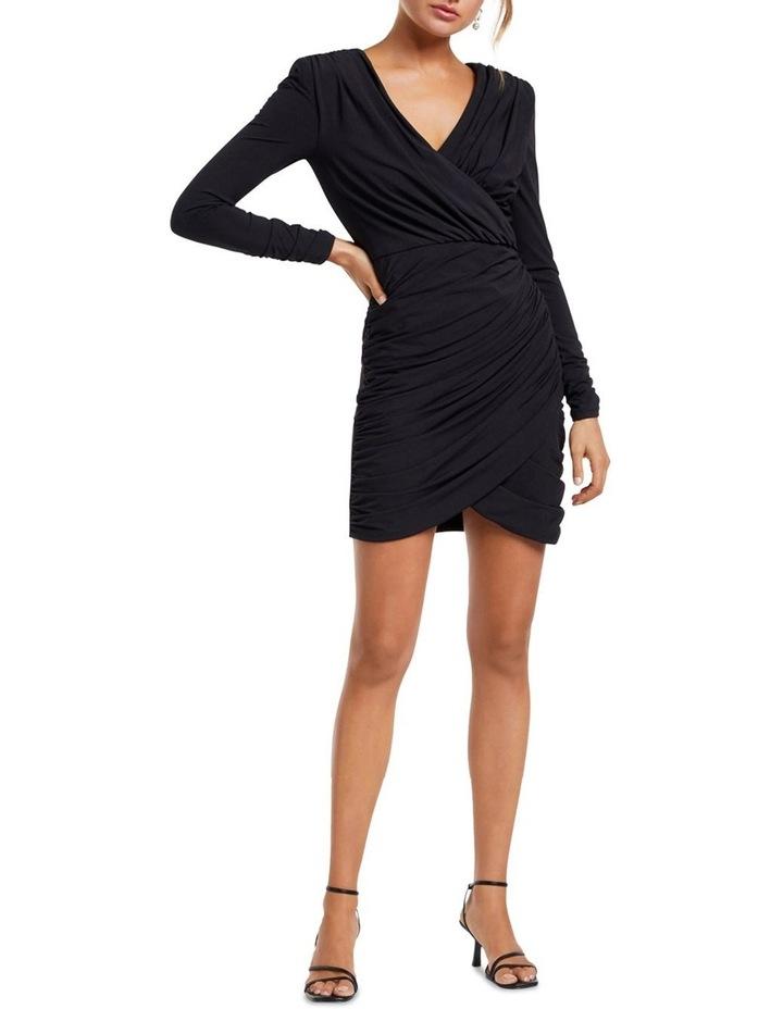 Sharni Draped Mini Dress image 5