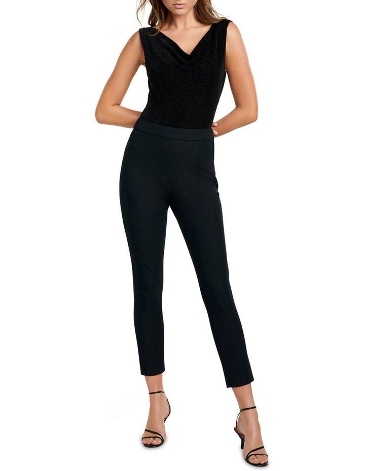 Sage Cowl Front and Back Bodysuit image 4