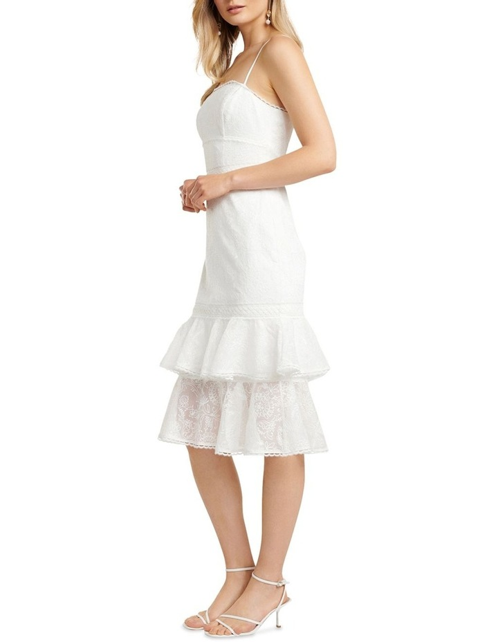 Alette Tiered Lace Midi Dress image 3
