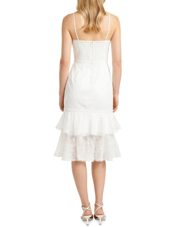 Alette Tiered Lace Midi Dress image 4