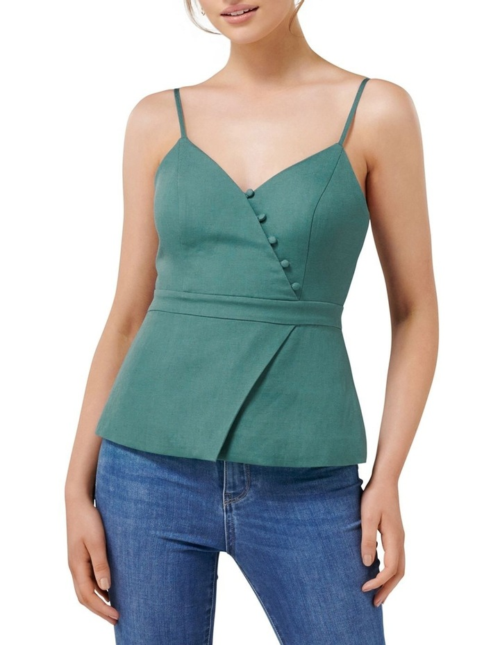 Evelyn Linen Bustier image 1
