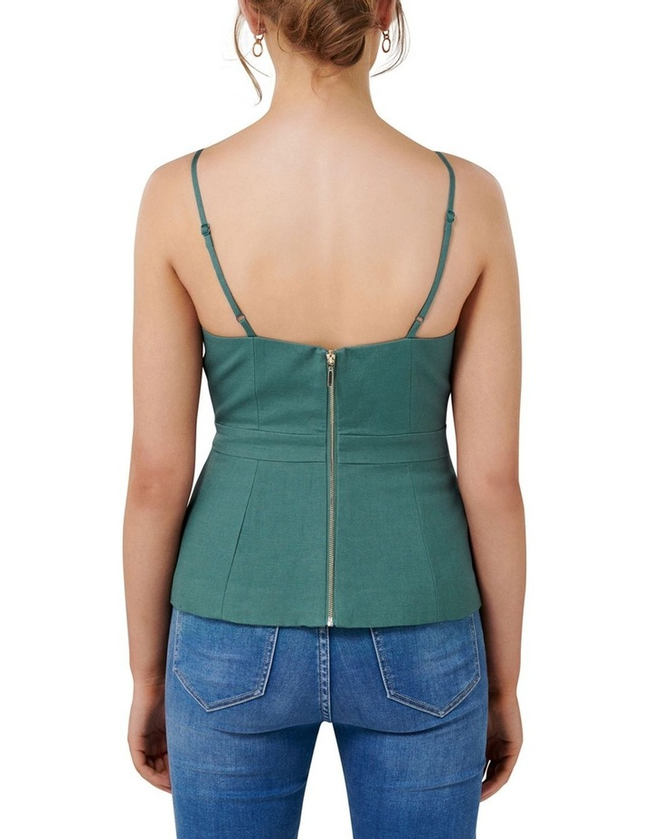 Evelyn Linen Bustier image 3