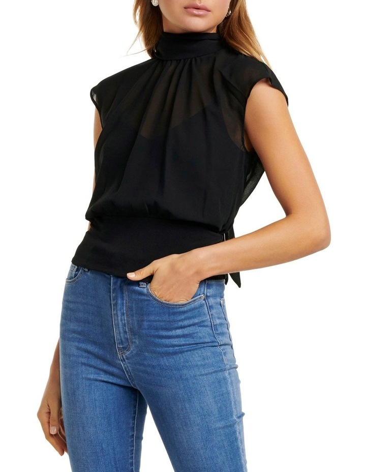 Loretta Grown On Shoulder Tie Neck image 1