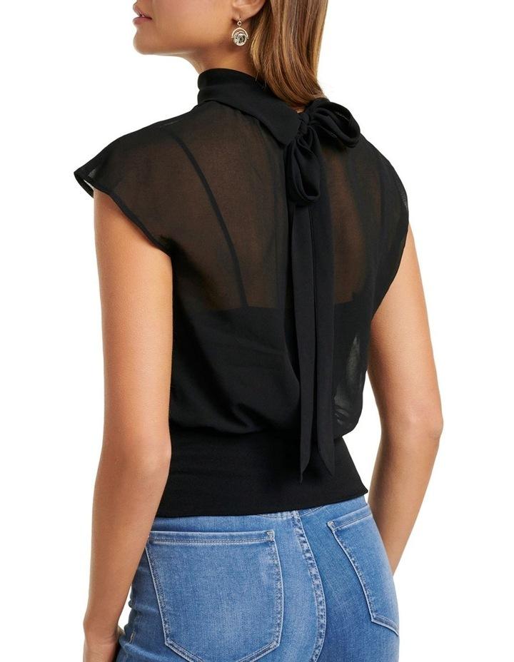 Loretta Grown On Shoulder Tie Neck image 3