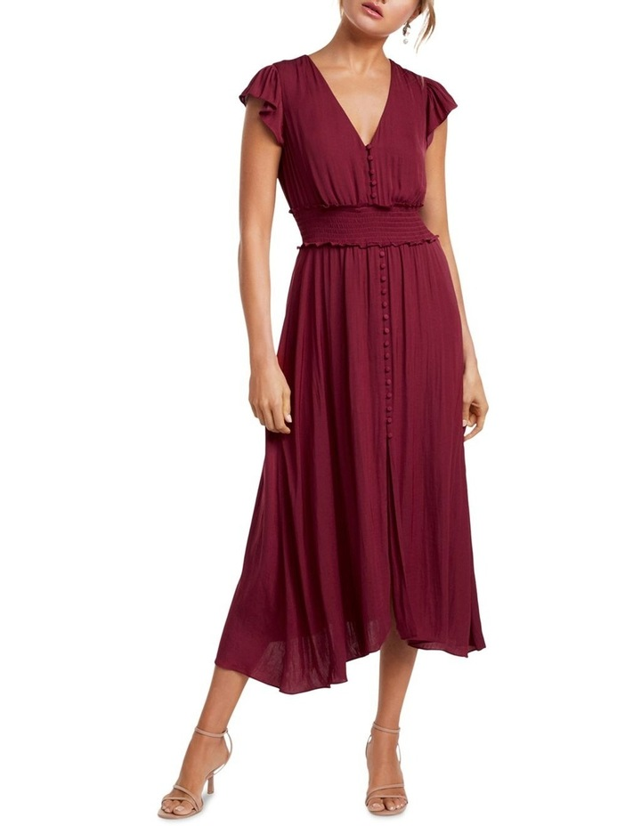Amayah Button Front Midi Dress image 1