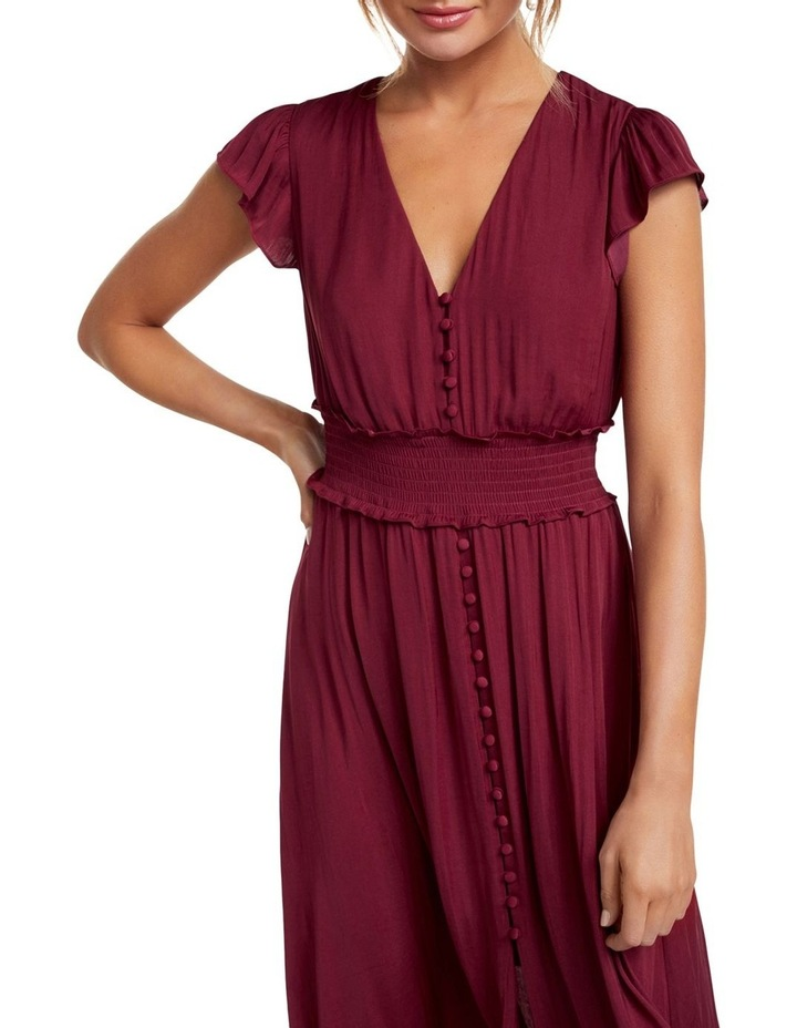 Amayah Button Front Midi Dress image 2