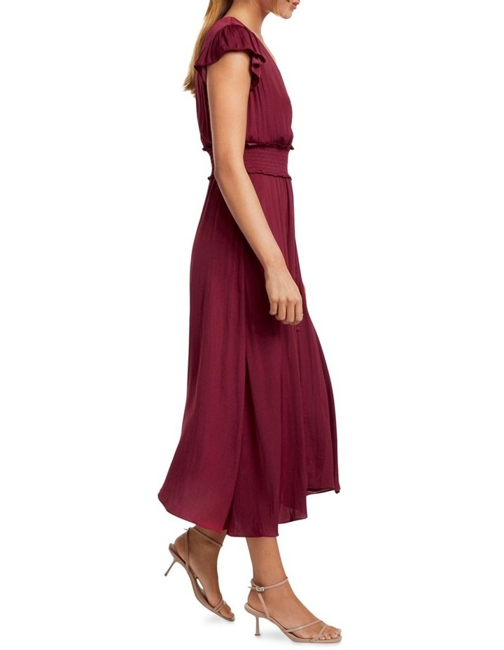 Amayah Button Front Midi Dress image 3