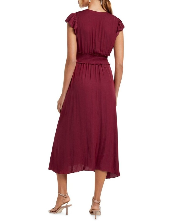 Amayah Button Front Midi Dress image 4