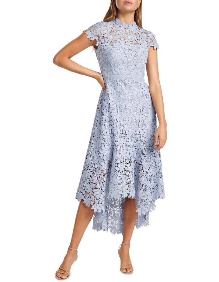 Chessie Open Back Lace Maxi Dress image 1