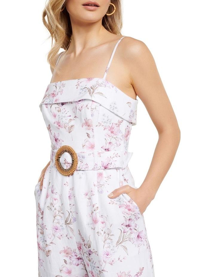 Roxanne Linen Strapless Jumpsuit image 2
