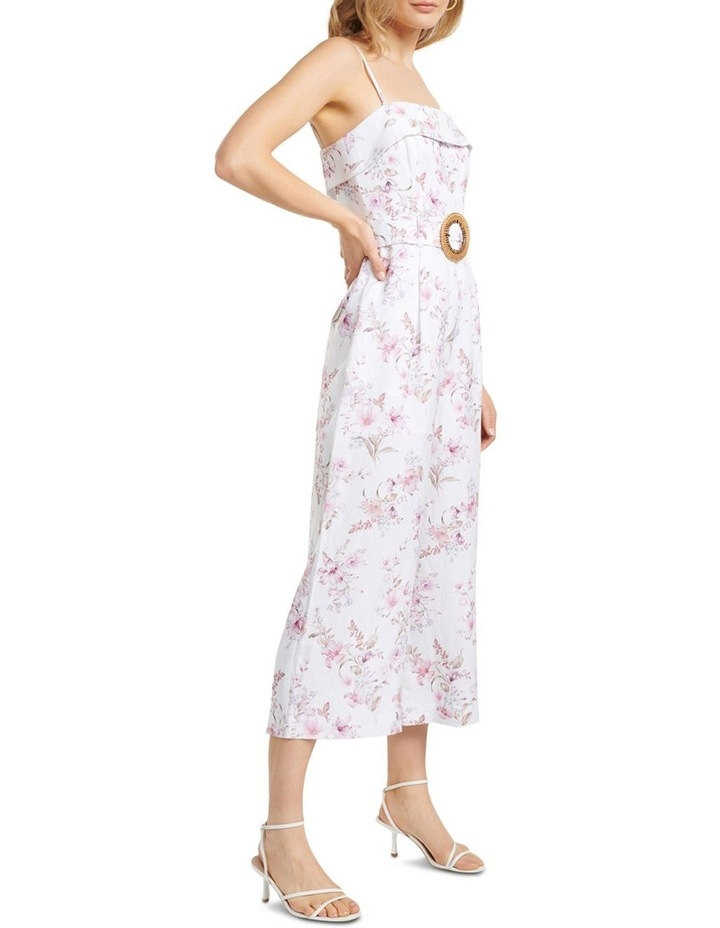 Roxanne Linen Strapless Jumpsuit image 3