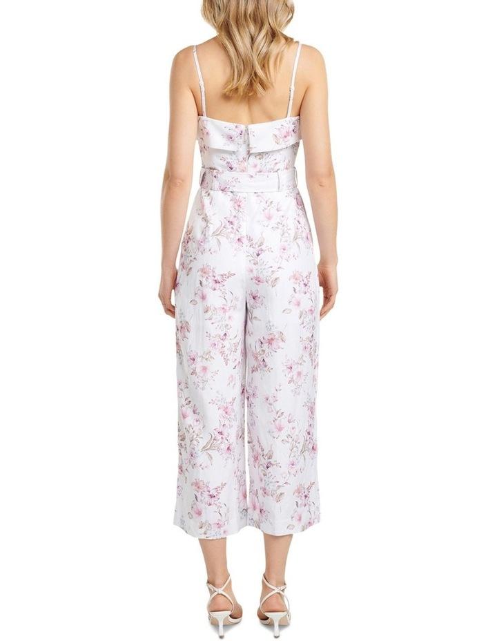 Roxanne Linen Strapless Jumpsuit image 4