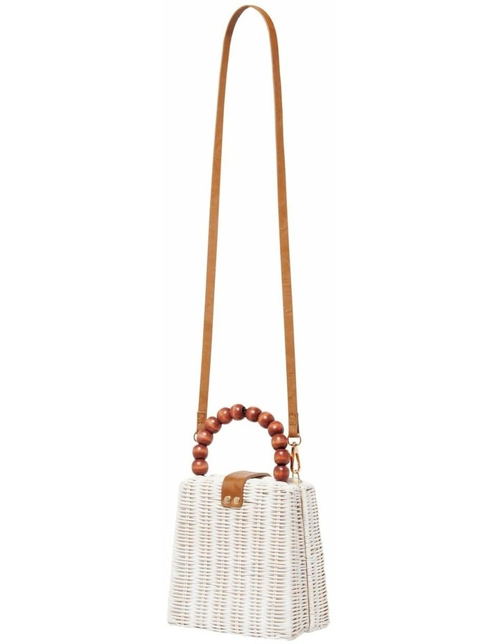 Giovanna Beaded Top Handle Straw Bag image 3