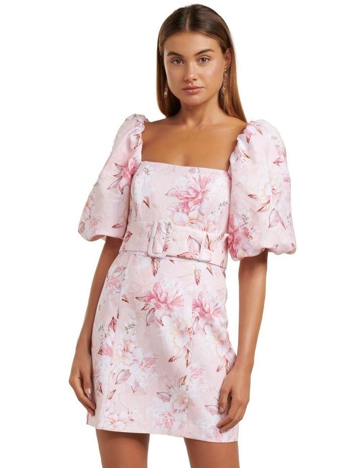 Ashley Puff Sleeve Mini Dress image 1