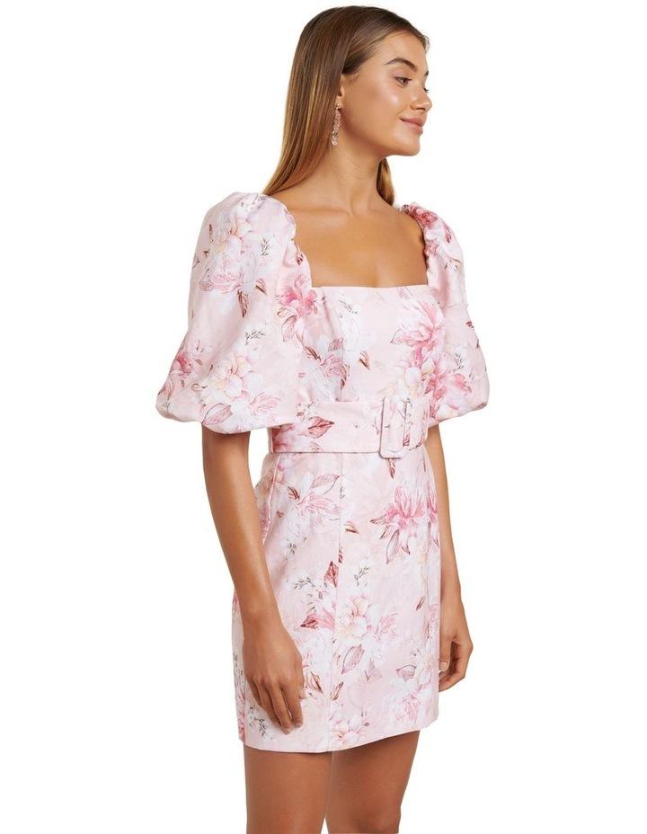 Ashley Puff Sleeve Mini Dress image 3