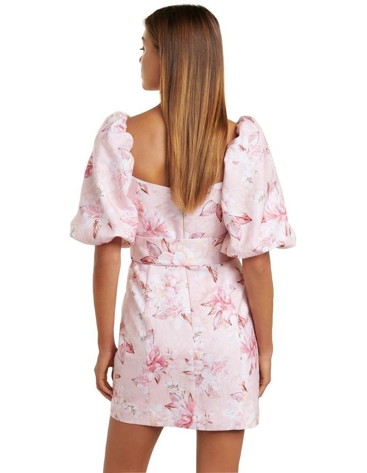 Ashley Puff Sleeve Mini Dress image 4