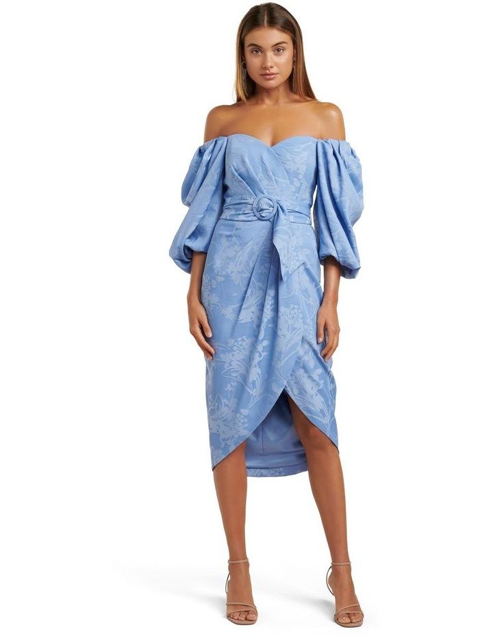 Elmira Puff Sleeve Midi Dress image 1