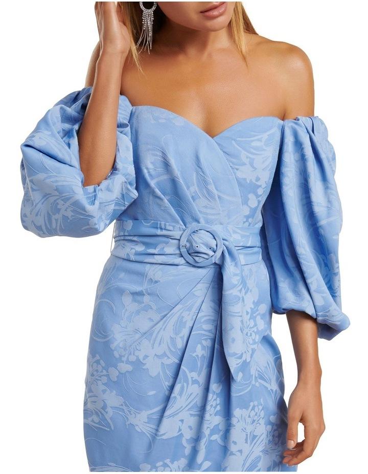 Elmira Puff Sleeve Midi Dress image 2