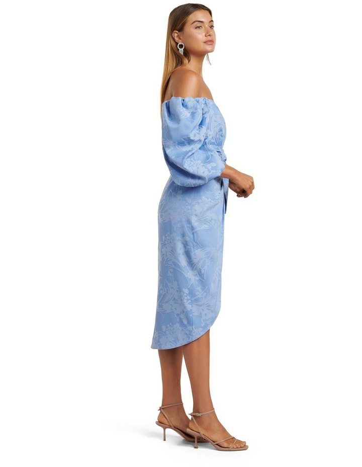 Elmira Puff Sleeve Midi Dress image 3