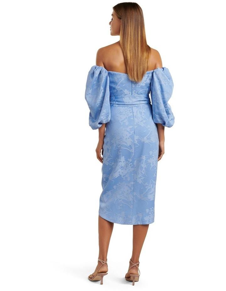 Elmira Puff Sleeve Midi Dress image 4