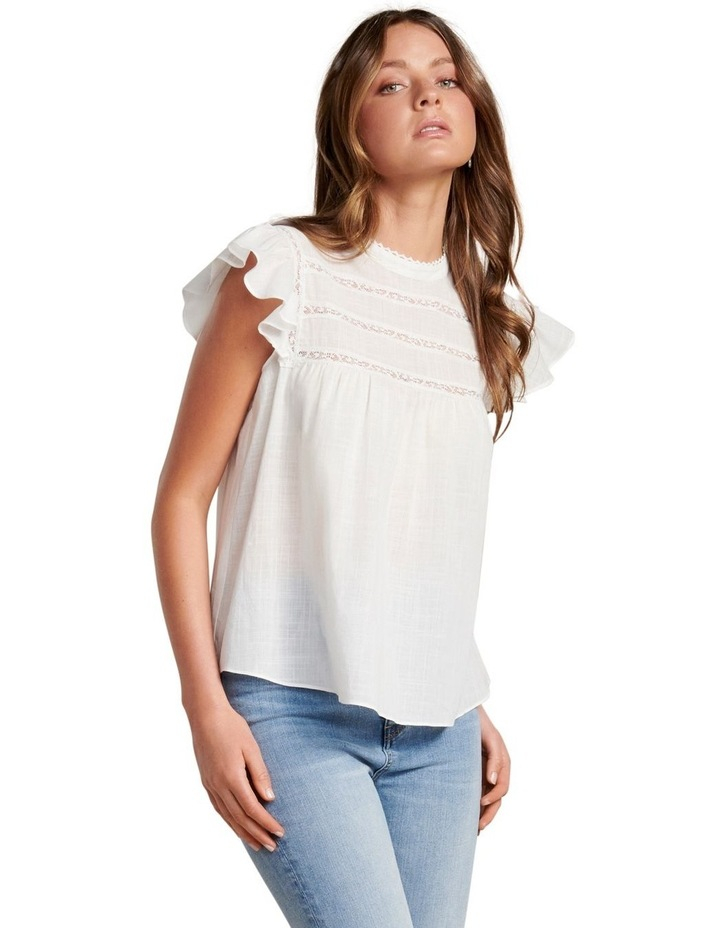 Bianca Frill Sleeve Top image 1