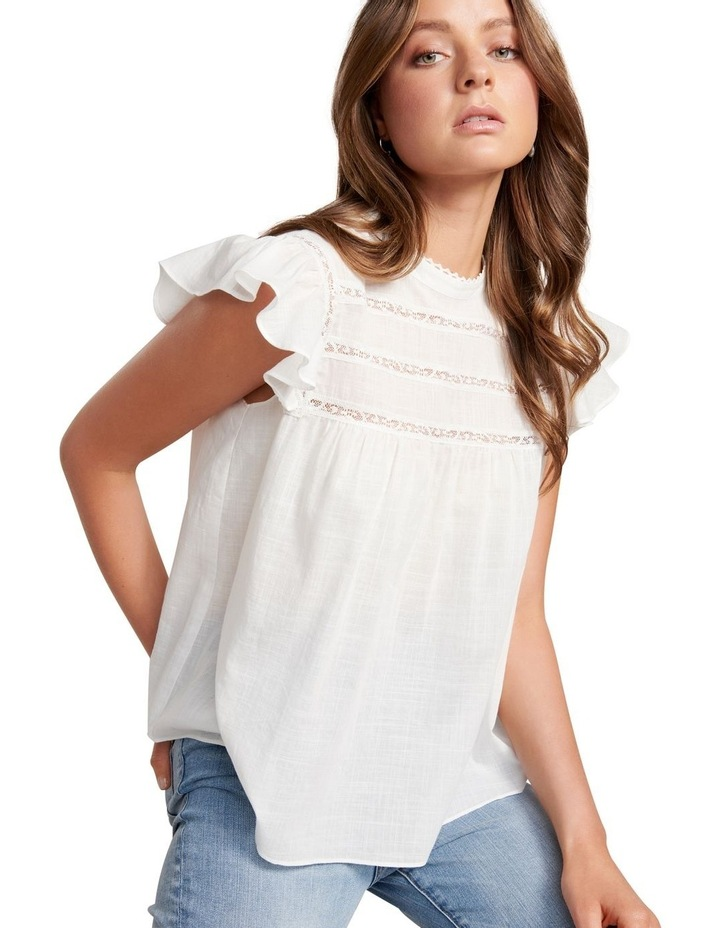 Bianca Frill Sleeve Top image 2