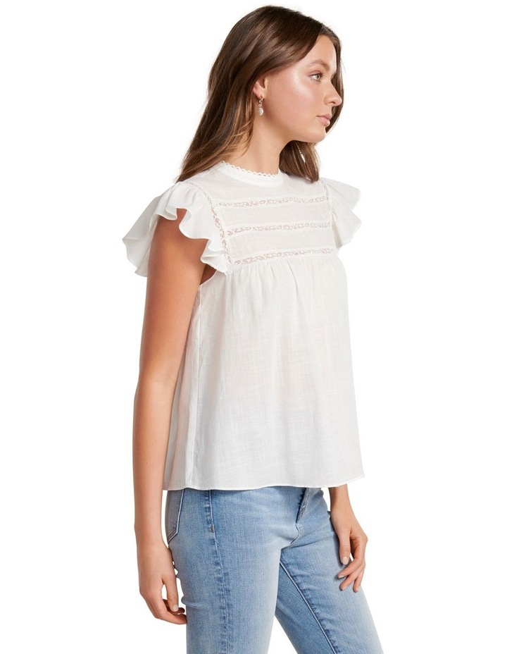 Bianca Frill Sleeve Top image 3