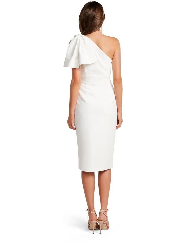 Bessy One Shoulder Bow Dress image 4