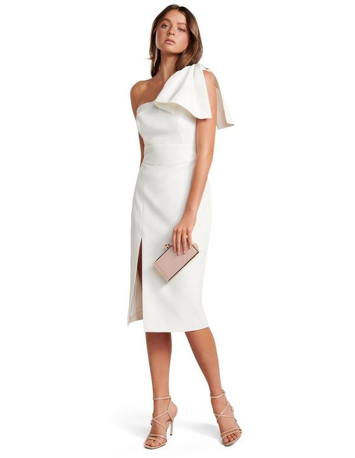 Bessy One Shoulder Bow Dress image 5