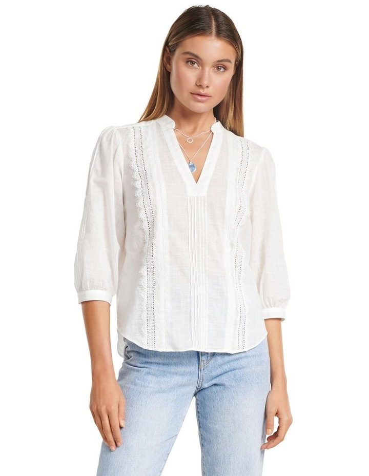 Briallyn Lace Trim Blouse image 1